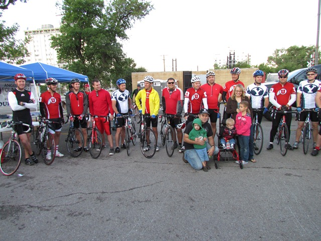 First Annual Rolling Rivlalry Bike Ride